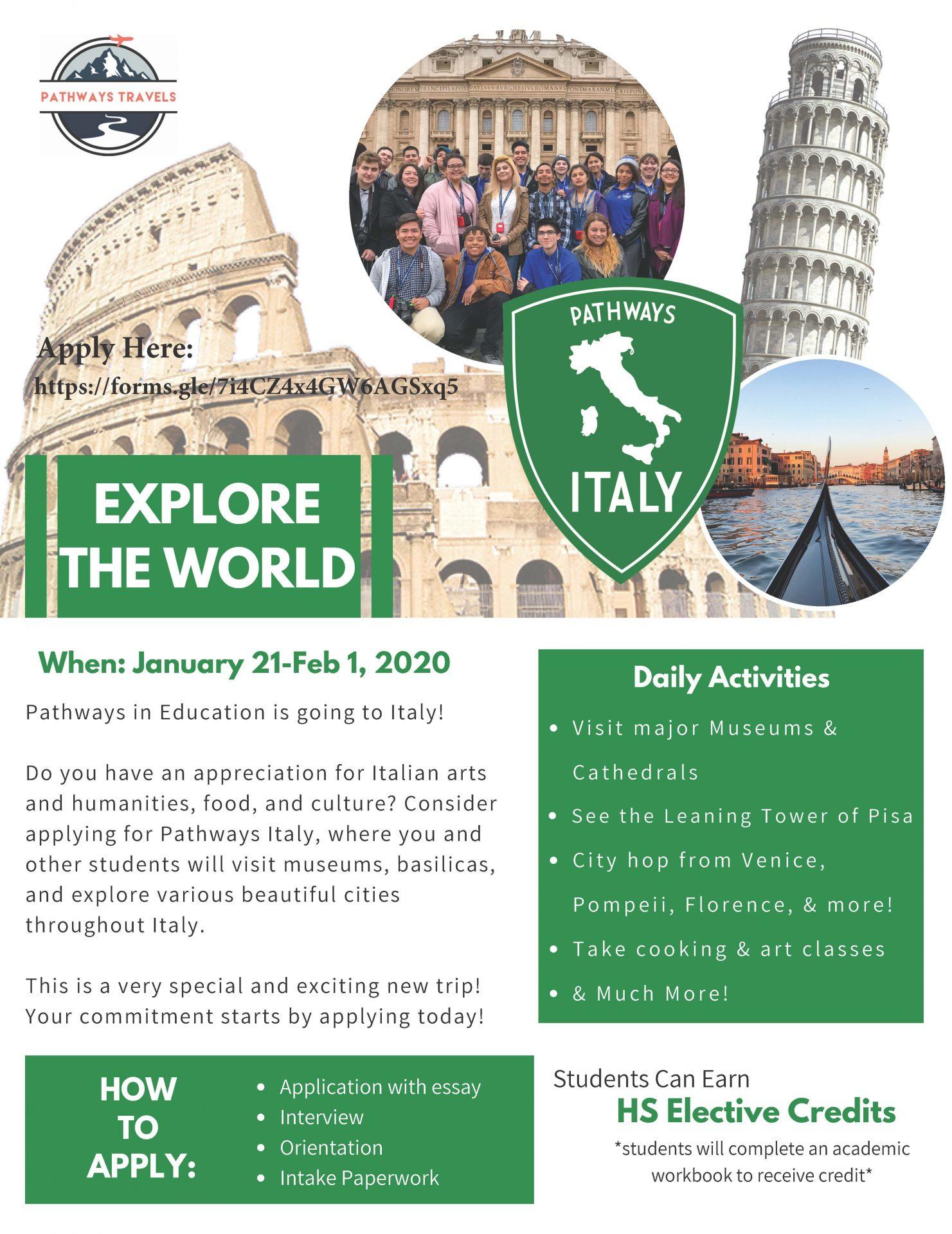 Pathways Italy Trip @ Italy | Rome | Lazio | Italy